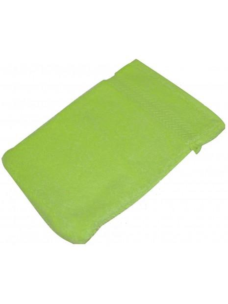 gant de toilette vert pale
