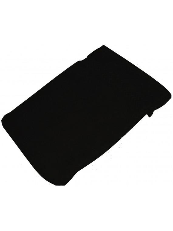 gant de toilette noir