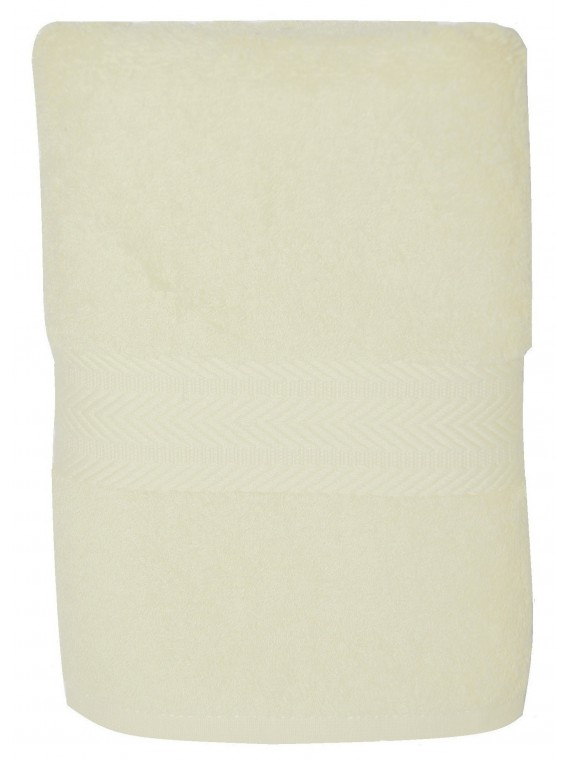 serviette blanche 50x100cm