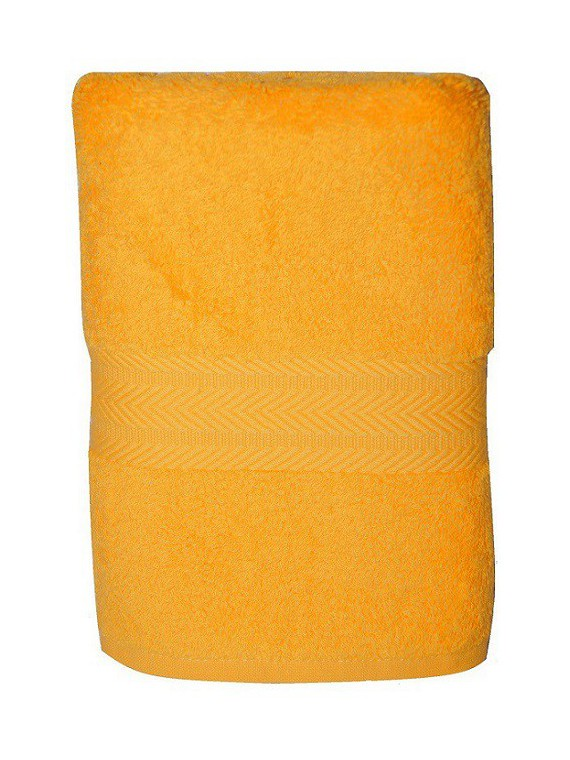 serviette jaune bouton d'or