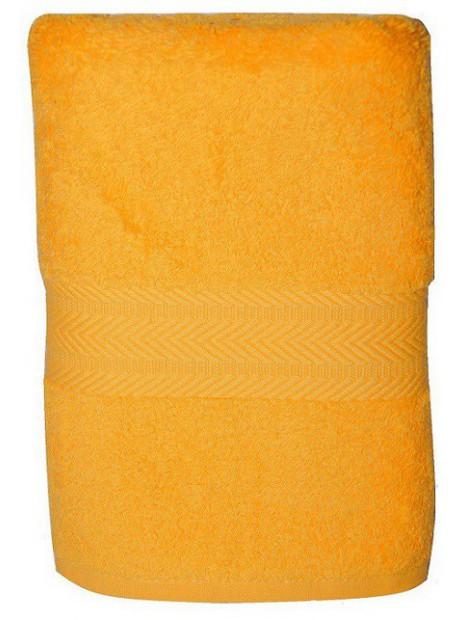 serviette jaune bouton d'or 50x100 cm