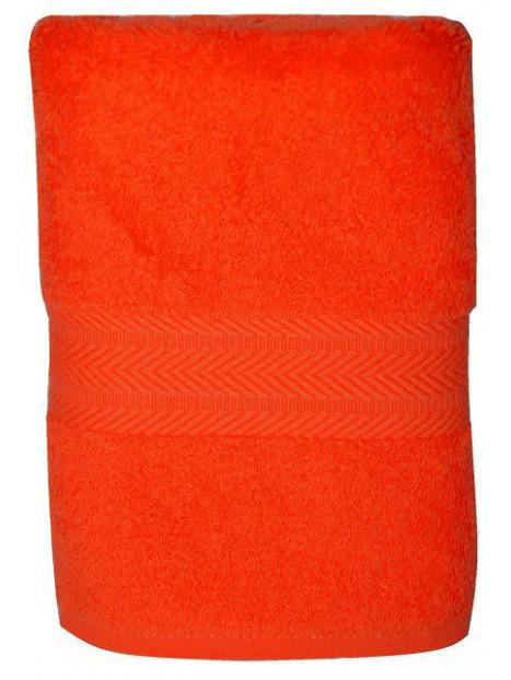 serviette orange 50x100 cm