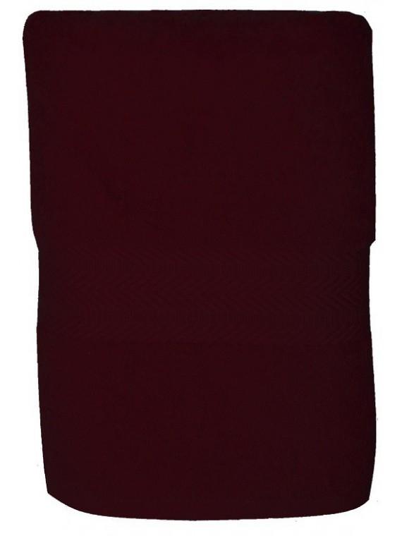 serviette bordeaux 50x100 cm