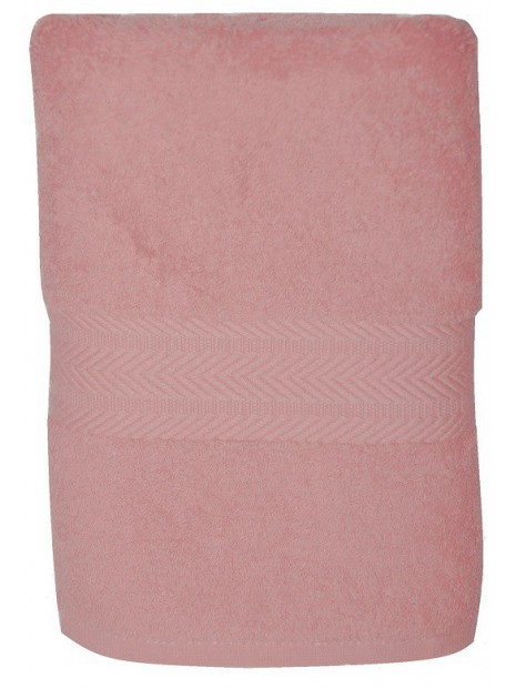 serviette rose pale 50x100 cm