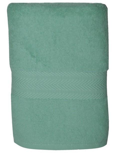 serviette bleu aqua 50x100 cm