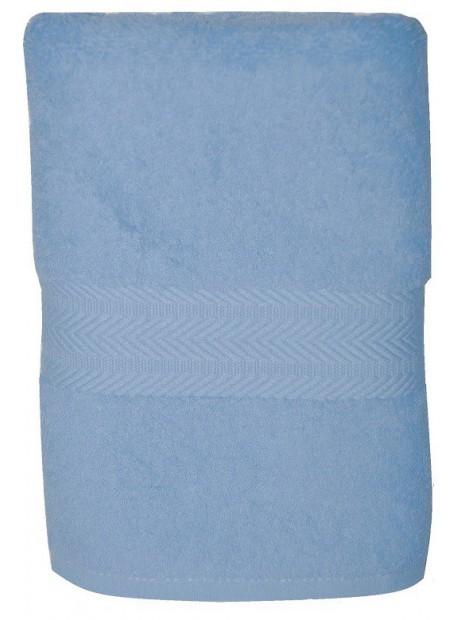 serviette bleu ciel 50x100 cm