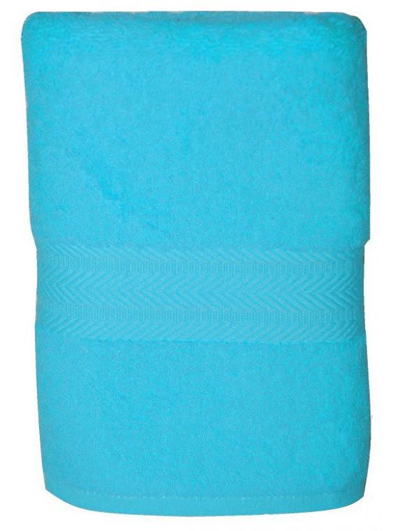 serviette bleu turquoise 50x100 cm