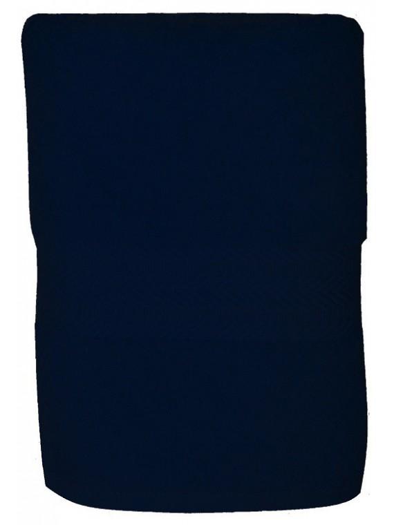 serviette bleu marine 50x100 cm