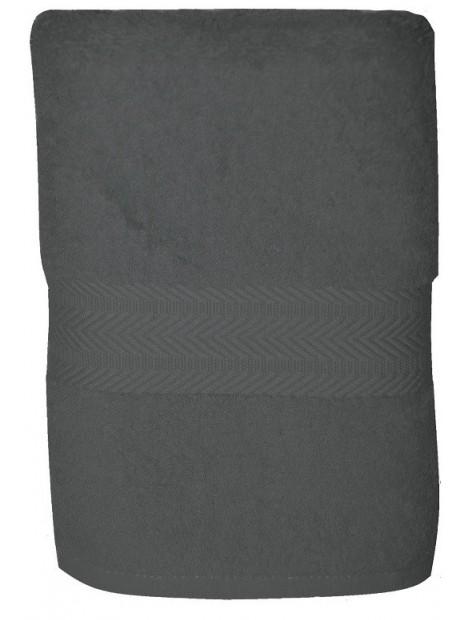 serviette grise 50x100 cm