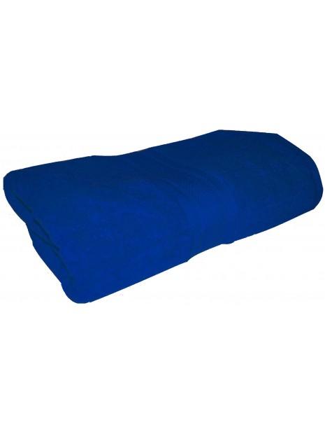 drap de bain bleu ocean 70x140 cm