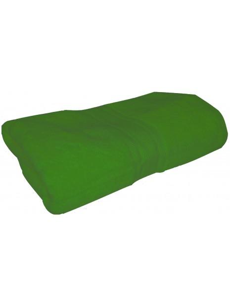 drap de bain vert pomme 70x140 cm