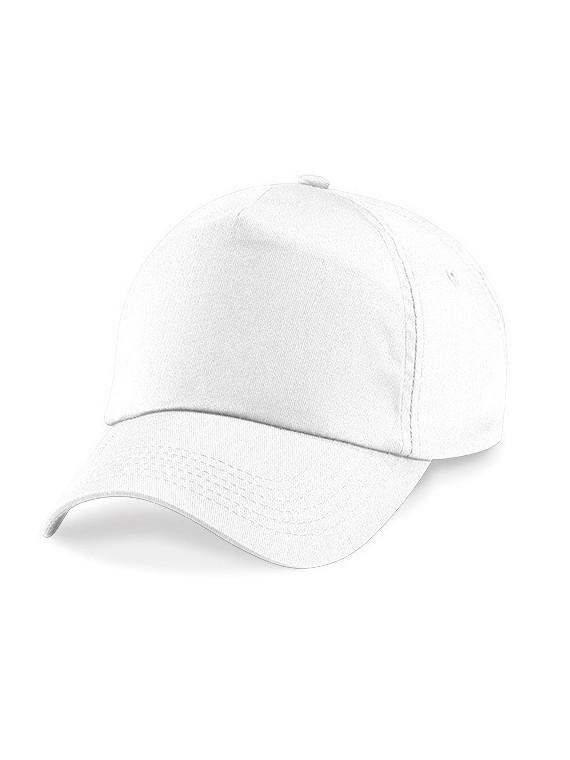 casquette uni blanche scratch