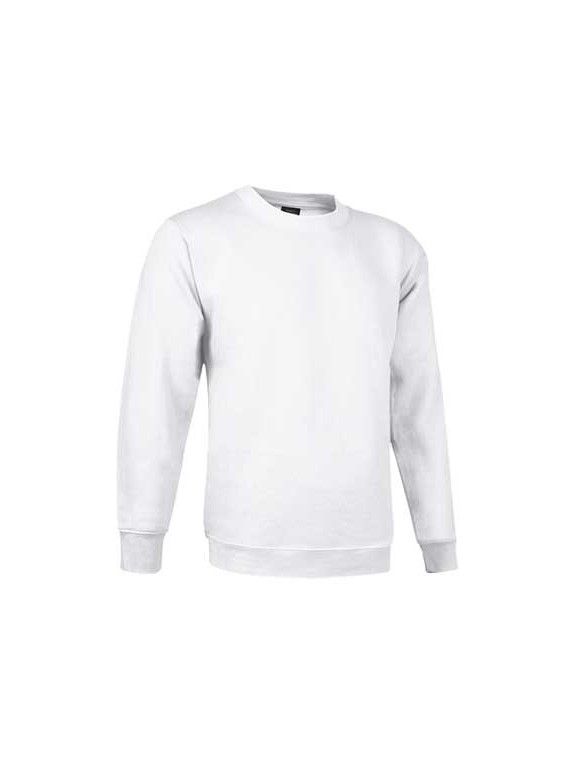 sweat col rond PRIMO blanc
