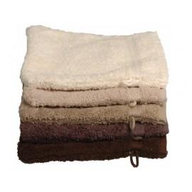 gants de toilette brodés