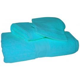 ensemble bain bleu turquoise